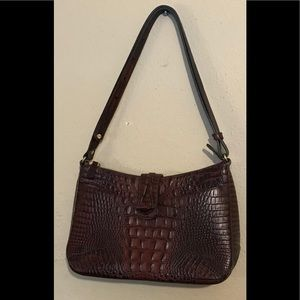 Gorgeous Dark Brown BRAHMIN Shoulder purse
